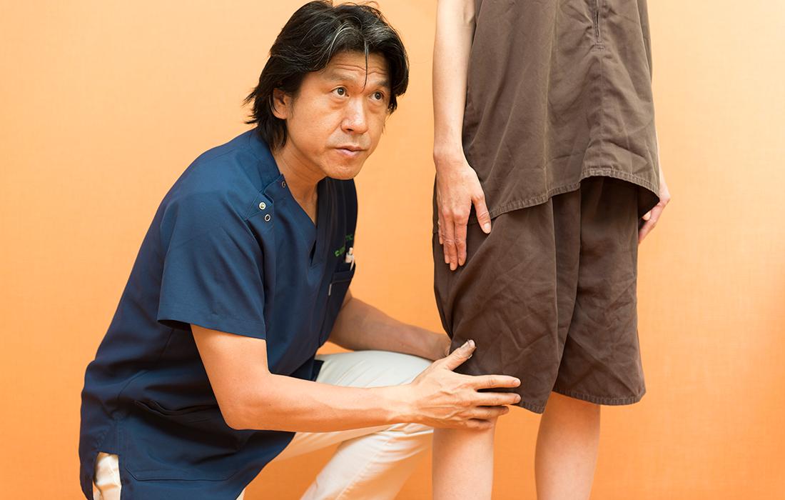 身体のバランス(背骨・関節の軸)を重要視して施術いたします。